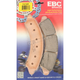 Long-Life Sintered R-Series Brake Pads - FA728R