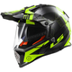 Black/Hi-Vis Yellow Pioneer Trigger Helmet w/Dual and Single Lens Shields