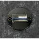 Black Blue Line American Flag Timing Cover - LE03-63BG