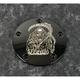 Black Grim Reaper Timing Cover - SKUL18-04BG