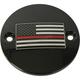 Black Red Line American Flag Timing Cover - FF12-63BG
