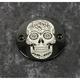Black Sugar Skull Timing Cover - SSKUL-63BG