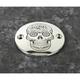 Chrome Sugar Skull Timing Cover - SSKUL-63