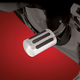 Chrome Shifter Peg Cover - 21-556