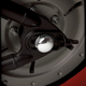 Billet Rear Axle Nut Covers - 71-131