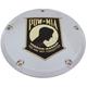 Chrome POW-MIA Derby Cover w/Gold Accent - POW05-12
