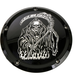 Black Grim Reaper Low Profile Derby Cover - SKUL18-46BG