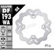 Rear Solid Mount Wave Rotor - DF193WA