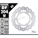 Rear Solid Mount Wave Rotor - DF204W