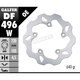 Rear Solid Mount Wave Rotor - DF496W