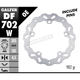 Front Solid Mount Wave Rotor - DF702W