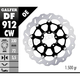 Front Aluminium Floating Wave Rotor w/Holes - DF912CW