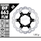 Front Steel Floating Wave Rotor - DF663FLW