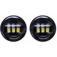 Black 4 1/2 in. LED Auxiliary Lights - BC-451B