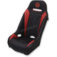 Black/Red Extreme Double T Seat - EBURDDTKW