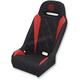 Black/Red Extreme Diamond Seat - EBURDBDKW
