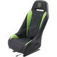 Black/Green Extreme Diamond Seat - EBUBLBDKW
