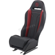 Black/Red Performance Double T Seat - PBURDDTKW
