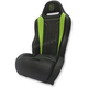 Black/Green Performance Double T Seat - PBUBLDTKW