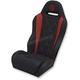Black/Red Performance Diamond Seat - PBURDBDKW