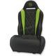 Black/Green Performance Diamond Seat - PBUBLBDKW