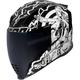 White Airflite Pleasuredome Redux Helmet