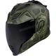 Green Airflite Blockchain Helmet
