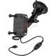 Ram Tough Charge Wireless Charging Holder w/Ram Twist Lock Suction Cup - RAM-B-166-UN12W