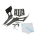 Black Slot Luggage Rack for 2-Up Seats - 101-070-402