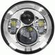 Silver 7 in. Round Headlight - BC-701S