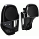Vivid Black Lower Fairing w/Speaker Grill - BC-HDLFSP2