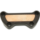 Black/Hammered Copper Inlay Top Clamp - BB10-126