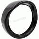 Black 7 in. Visor Style Light Trim Ring  - BC-HDTRIM3