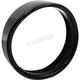 Black 5.75 in. Visor Style Light Trim Ring  - BC-HDTRIM1