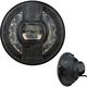Pitch Black 7 in. Beast 2 LED Headlight w/Driving Light - ABIG7B2-BN