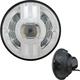 Chrome 7 in. Beast 2 LED Headlight w/Driving Light - ABIG7B2-C