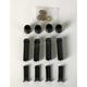 Black Anodized 10-Gauge Pushrod Tube Kit - 03-634
