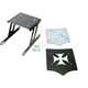 Black Cross Luggage Rack for Solo Seats - 101-056-406