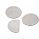 White Clutch and Brake Pedal Pads - 36950-45