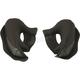 Black Cheek Pads for V90 Helmets