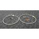 Stainless Steel Front Brake Line Kit - FK003D485-2