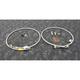 Stainless Steel Front Brake Line Kit - FK003D496-2
