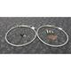Stainless Steel Front Brake Line Kit - FK003D537-2