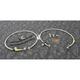 Stainless Steel Front Brake Line Kit - FK003D576-2