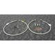 Stainless Steel Front Brake Line Kit - FK003D641-2