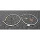 Stainless Steel Front Brake Line Kit - FK003D646-2