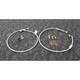 Stainless Steel Front Brake Line Kit - FK003D703-2
