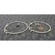 Stainless Steel Front Brake Line Kit - FK003D773-2