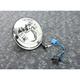 Chrome 7 in. LED Headlight - 11004