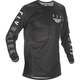 Youth Black/White Kinetic K121 Jersey